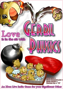 Gerbil Physics Valentines Day